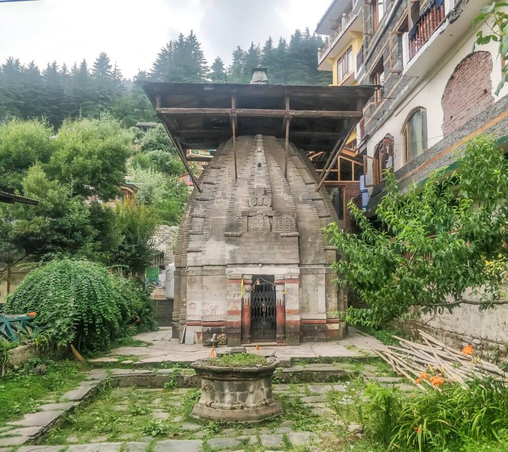 vishnu temple naggar manali himachal pradesh