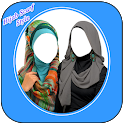 Hijab Scarf Style Photo Suit icon