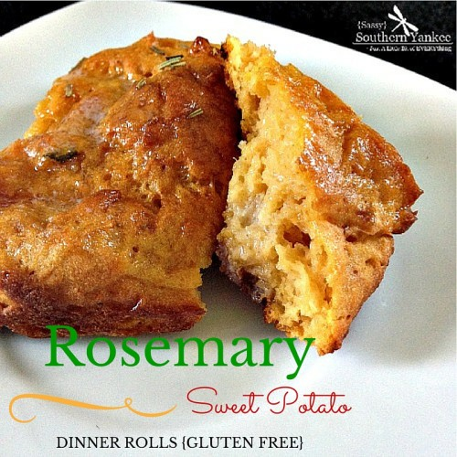 Rosemary Sweet Potato Dinner Rolls {Gluten Free} Recipe | Yummly