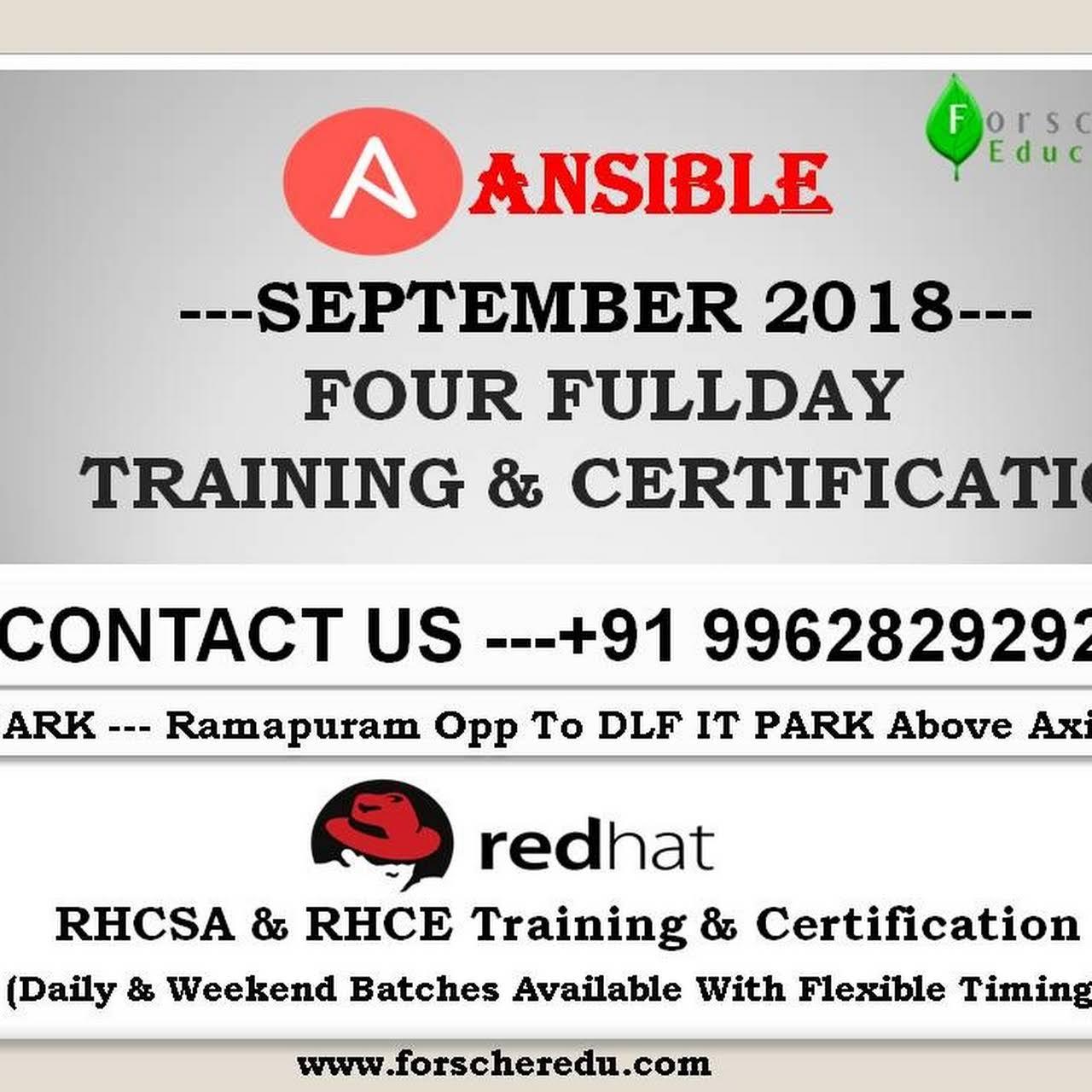 Python, AWS, Red Hat, Azure, MCSA Training In Chennai