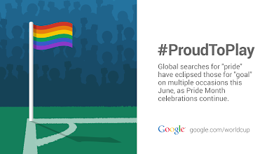 Photo: It's not just the Cup that unites us. #GoogleTrends #ProudToPlay