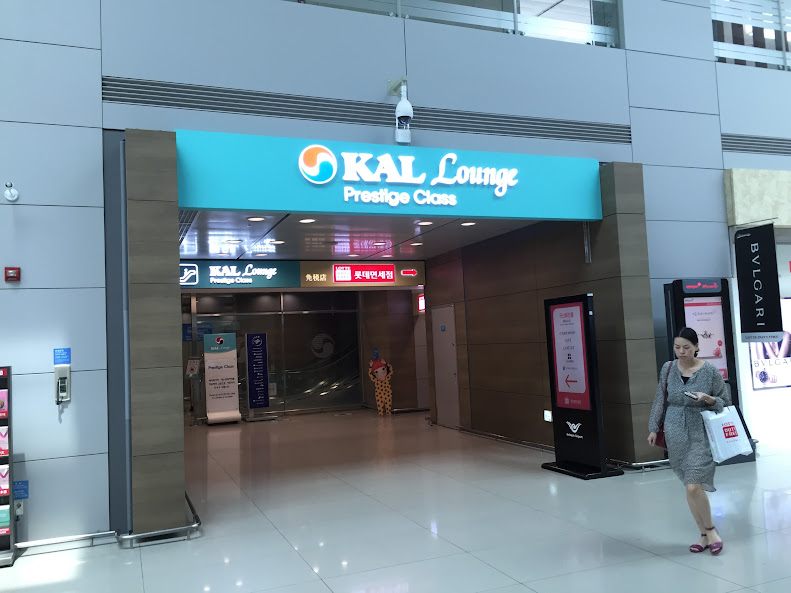 仁川国際空港 KALラウンジ