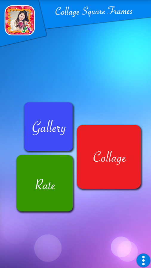 collage square frames screenshot