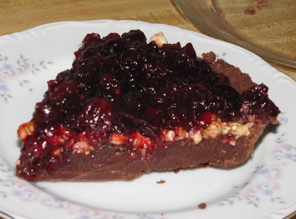 Cran-cranberry Honey Fudge Pie Recipe