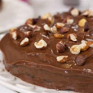 Nutella Cake.