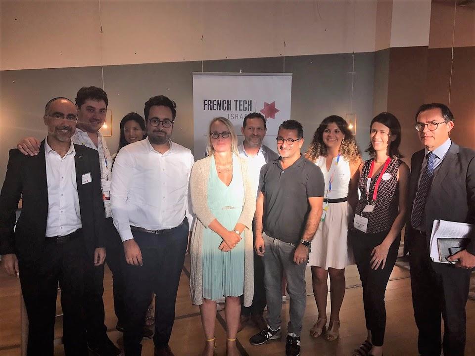 Réunion de travail French Tech Israel avec Mounir Mahjoubi