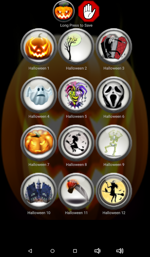 free scary halloween ringtones screenshot - Free Scary Halloween Images