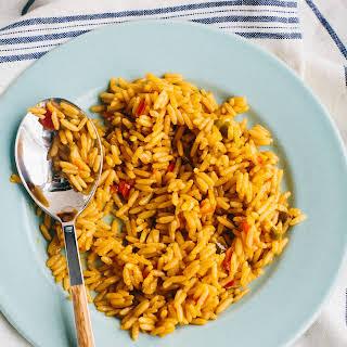 Yellow (Spanish) Rice.