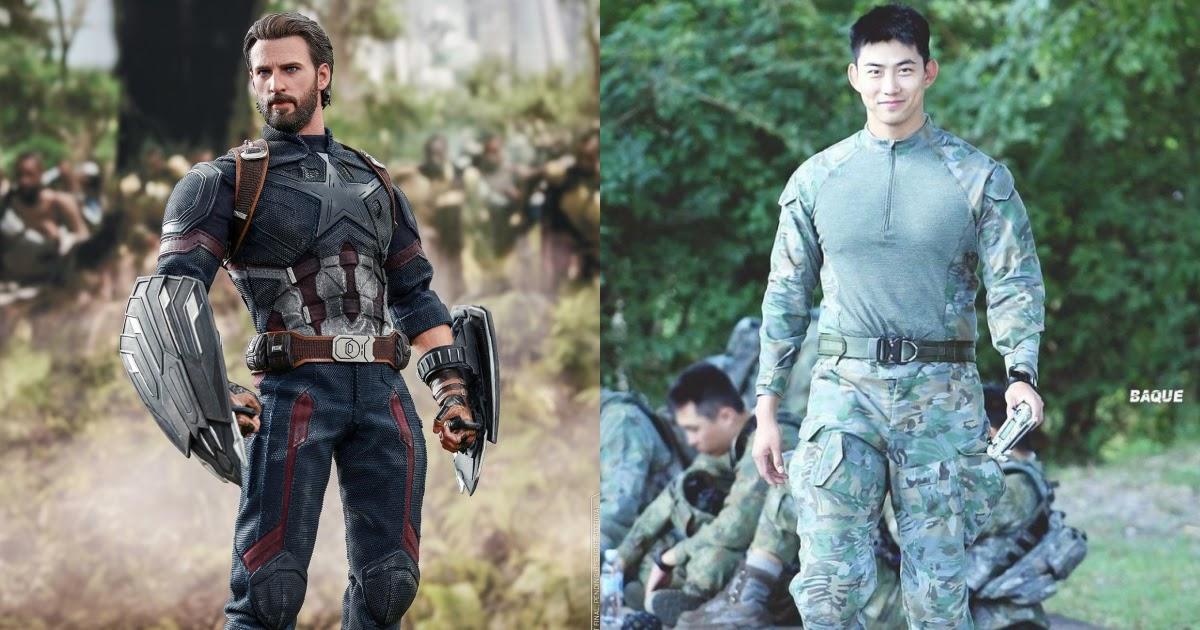 captain america korea