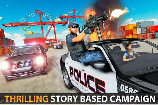 Police Counter Terrorist Shooting - FPS Strike War apkpoly screenshots 5