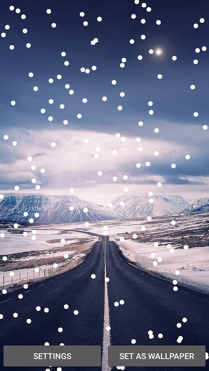 Snow Falling Live Wallpaper Winter Snow Wallpaper