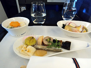 Photo: Part of Japanese course meal