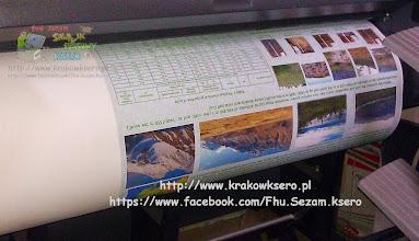 Photo: Poster - plakat wielkoformatowy B1. Czas druku około 3 min. Usługa realizowana na poczekaniu.