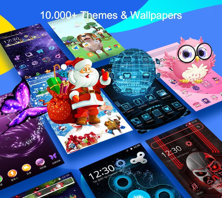Cm Launcher 3d Theme Wallpapers Efficient Android