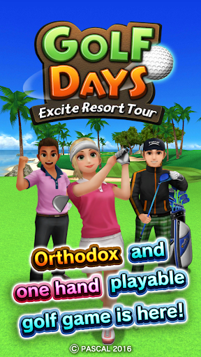 Golf Days:Excite Resort Tour 1.1.0 screenshots 1