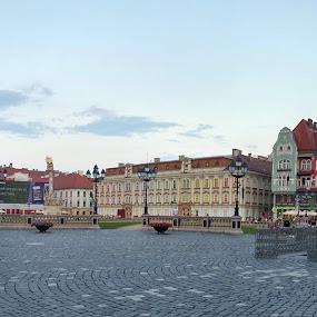 Piata Unirii Timisoara by Corina Chirila - Buildings & Architecture Public & Historical