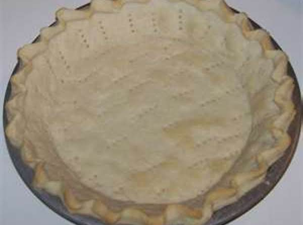 Hubby's Perfect Pie Crust Recipe