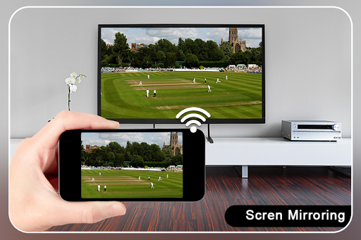 Screen Mirroring with TV : Mobile Screen to TV screenshots 1