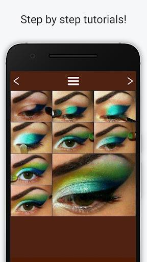 Eye makeup for brown eyes Screenshot