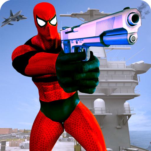 Super Hero Shooter Navy Battle