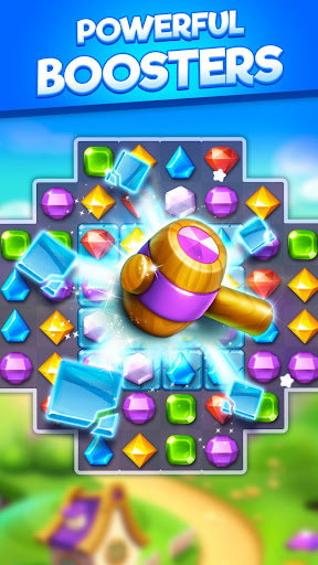 Bling Crush - Jewel & Gems Match 3 Puzzle Games apkslow screenshots 21