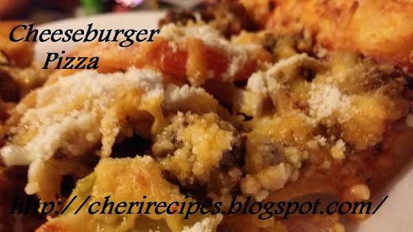 Real Cheeseburger Pizza Recipe