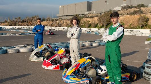 Presentación del equipo Club Racing Almería en el Karting Copo