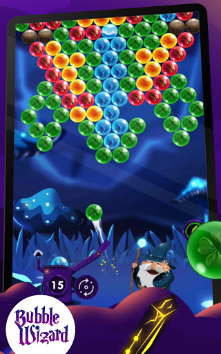 Bubble Shooter: Bubble Wizard, match 3 bubble game apkmr screenshots 7