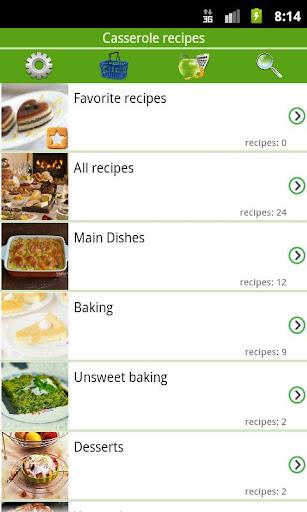 Casserole recipes 5.9.1 screenshots 1