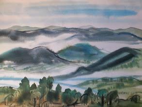 Photo: Ludvík Kunc - akvarel č. 6