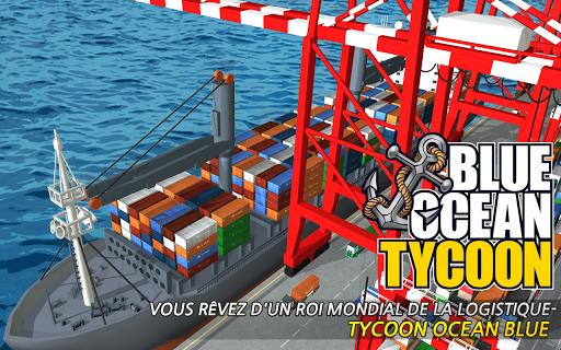 Télécharger Blue Ocean Tycoon APK MOD (Astuce) screenshots 1