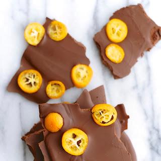 Kumquat Dark Chocolate Bark
