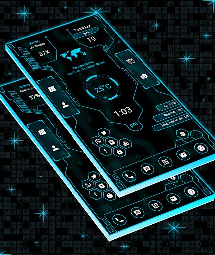Download Hitech Launcher 2 Pro - 2018 - hitech theme MOD APK 2