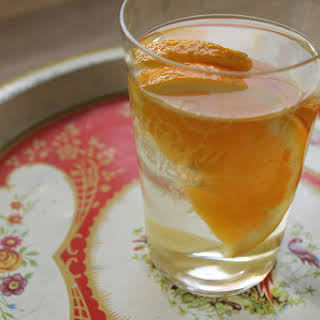 Orange And Ginger Water.