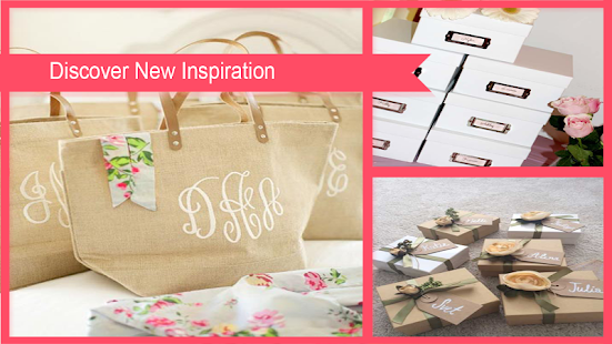 Bridesmaids Gifts Idea - náhled