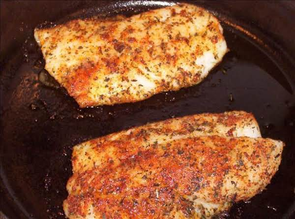 Quick Red Snapper Recipe Fried In Olive Oil.