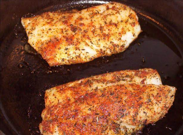 Quick Fried Red Snapper In Olive Oil Recipe Just A Pinch Recipes