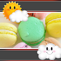 Macarons Clock And Weather icon