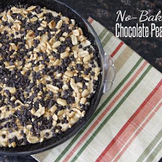 No-Bake Chocolate Peanut Butter Pie.