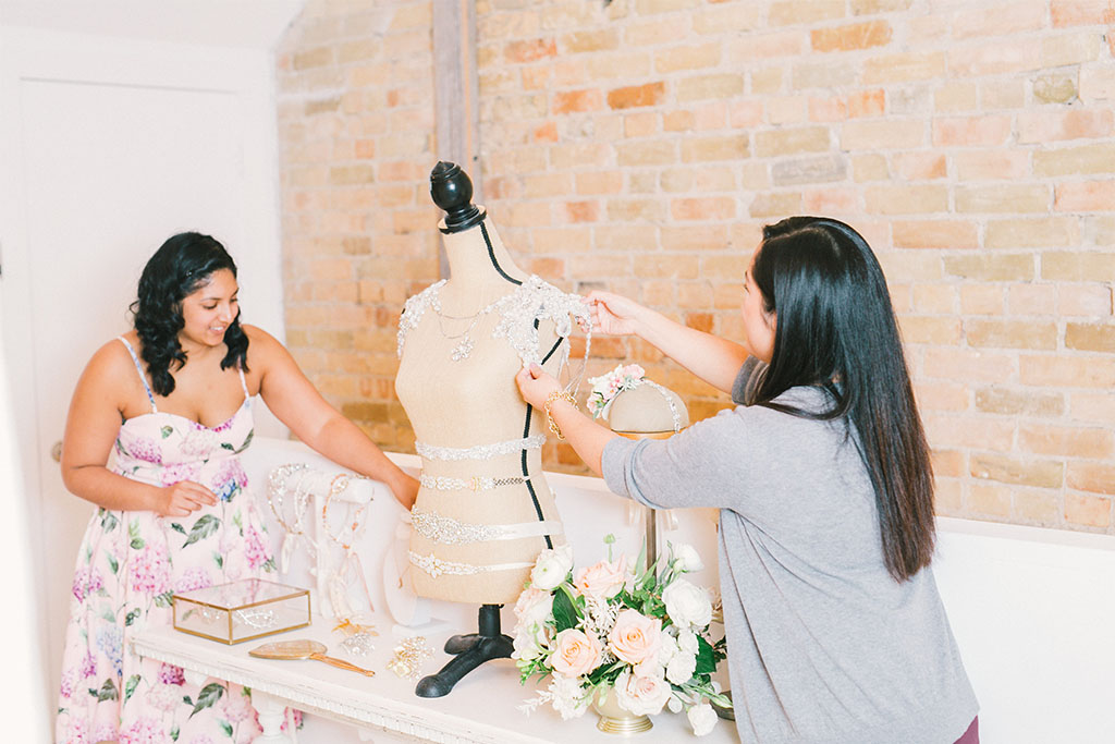Accessories for all our indie Toronto brides