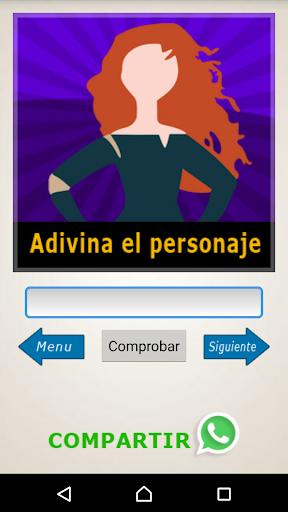 Adivina el Personaje - Siluetas, Emojis, Acertijos screenshot 6