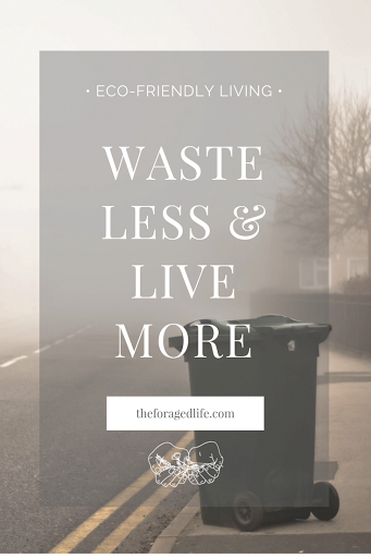Waste Less, Live More | Tips from Zero Waste champion Bea Johnson for living with less & how this will help you to live a more fulfilling life | Eco-Friendly Living by The Foraged Life