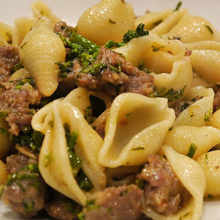 Pasta with Sausage & Broccoli Rabe