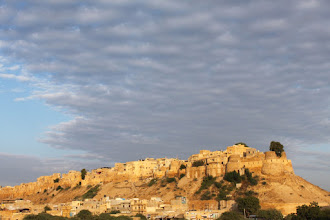 Photo: The fort from a panoramic view point at dusk
