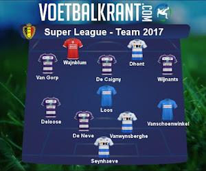 Ons team van 2017 in de Super League ziet er als volgt uit