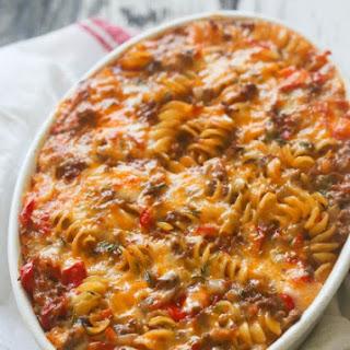 Macaroni Beef Casserole.
