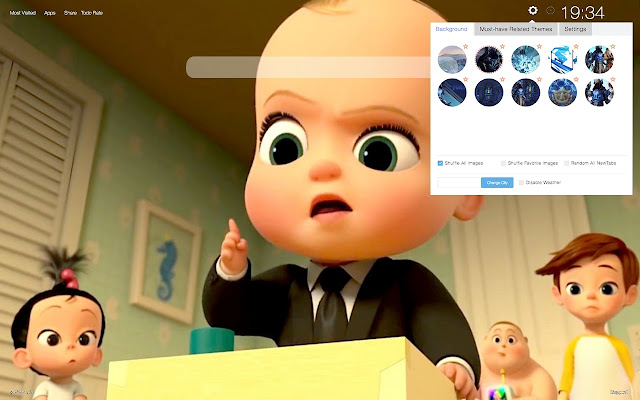Boss Baby Back In Business Wallpapers