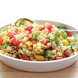 Marinated Vegetable Pasta Salad.