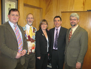 Photo: Sam Baird, Micheal Young, Lois Stewart, Robert Burns, Keith Delaplane
