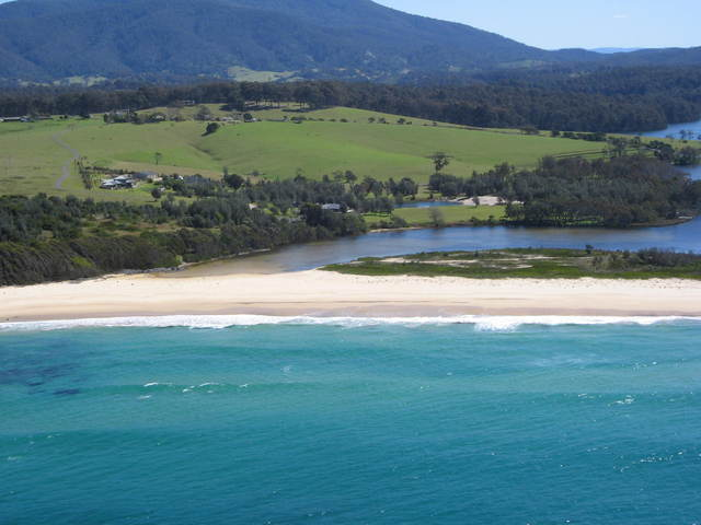 View of Corunna Farm, NSW